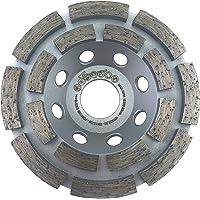 PRODIAMANT Premium diamantslijppan beton universeel 100 mm x 22,2 mm slijpschijf dubbele rij, gedraaide precisiedrager