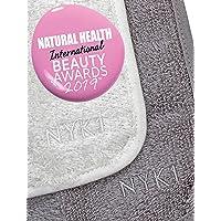 Bamboe Washandjes Handdoek Flanellen Gezichtsdoekje Set van 2 - NYK1 Reinigen en Scrubben Bamboe Doek, Make-Up Remover…