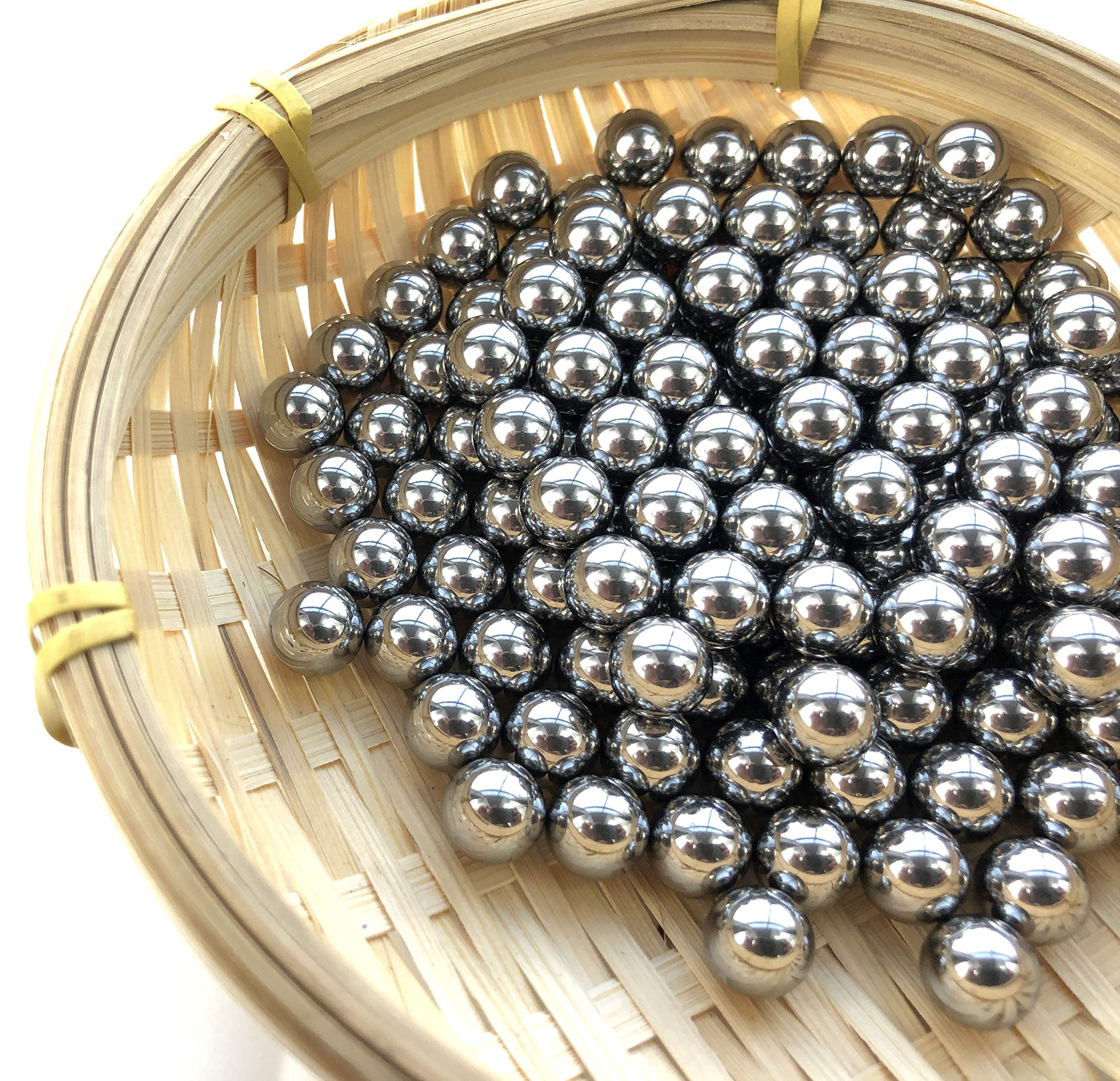 Hanchen Stainless Steel Grinding Balls Media Beads 250g Lab Ball Mill Grinding Media for Lab Planetary Ball Mill (1mm, 440) by Hanchen (Image #9)