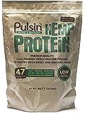 Pulsin' Unflavoured Hemp Protein Powder 1kg | 47% Protein | Natural |Vegan | Gluten Free | Soya Free | Dairy Free