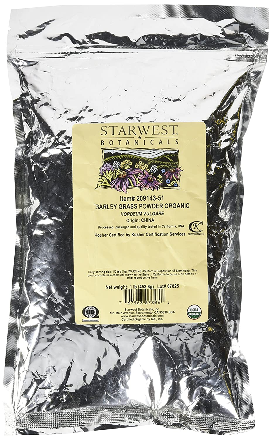 Amazon starwest botanicals organic barley grass powder 1 amazon starwest botanicals organic barley grass powder 1 pound health personal care 1betcityfo Gallery