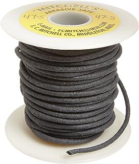 Mitchell Abrasives 01 Flat Abrasive Tape Aluminum Oxide 180 Grit 1//16 Wide x 25 Feet