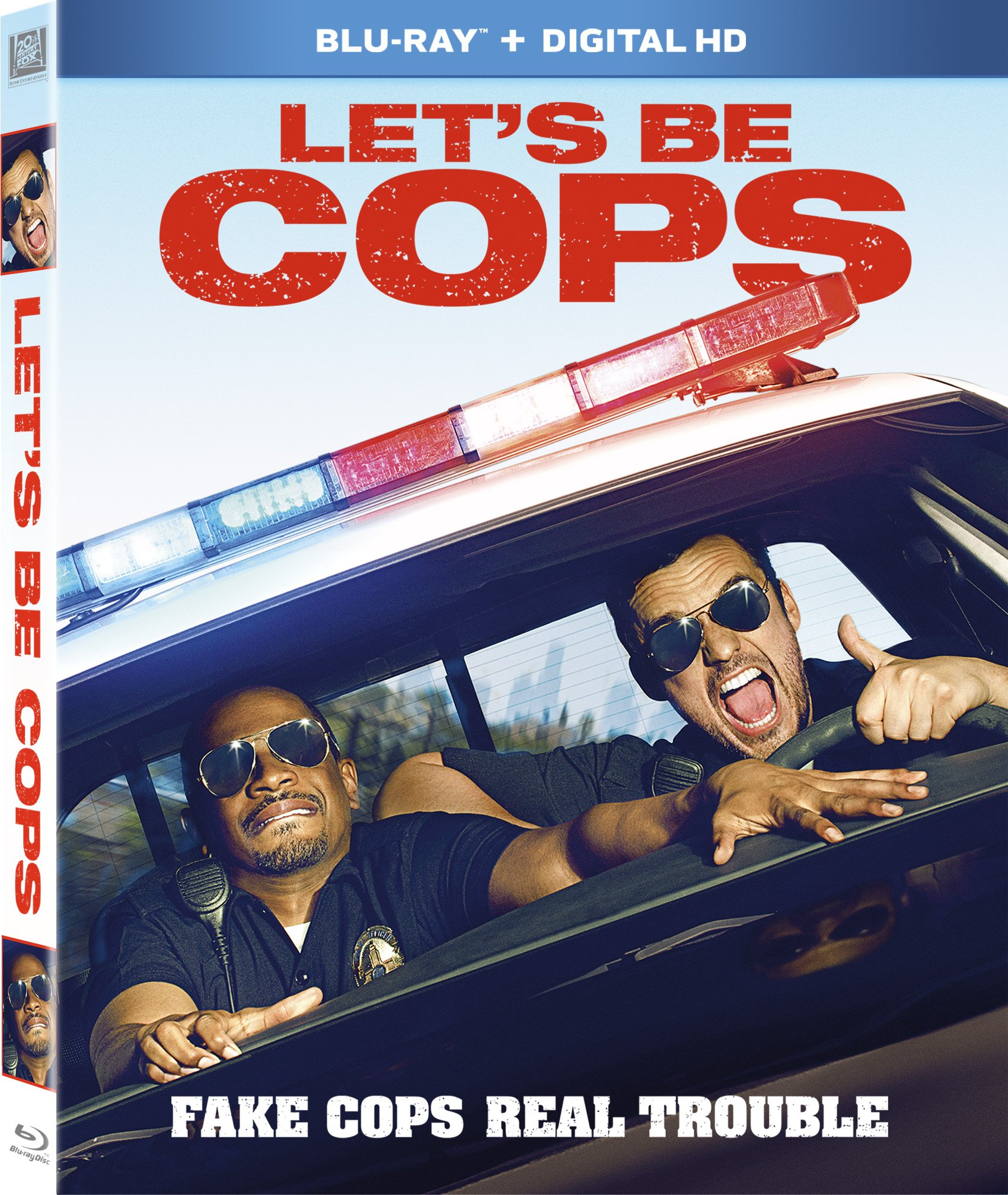 Blu-ray : Let's Be Cops (, Widescreen, Digitally Mastered in HD, Digital Theater System)