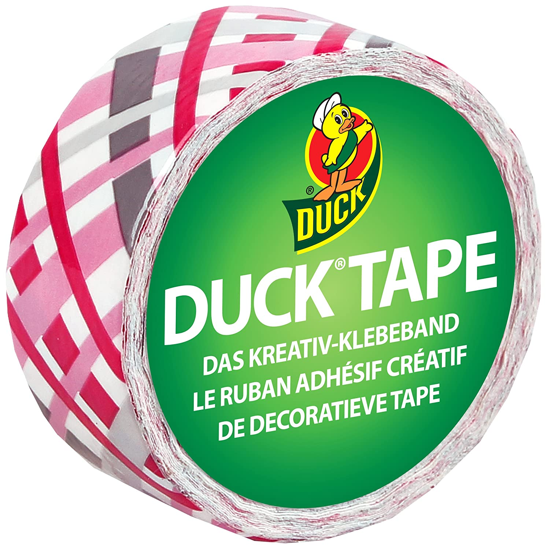 Ducktape 102-11 Ruban Adhésif, 19 mm x 4,5 m, à Bricoler et Embellir, Jolie Plaque à Bricoler et Embellir