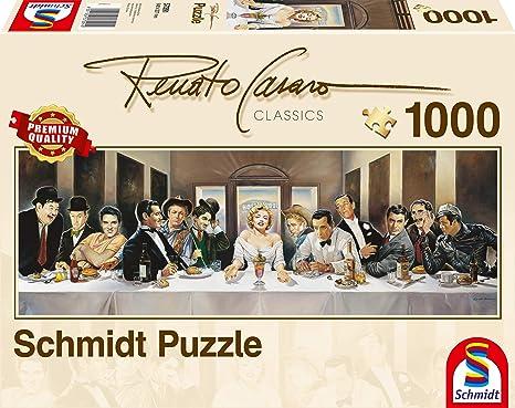 1.000 Teile Puzzle Spiel Deutsch 2017 Renato Casaro Hollywood