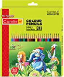 Camlin Kokuyo 4192567 24-Shade Full Size Colour Pencil Set (Assorted)