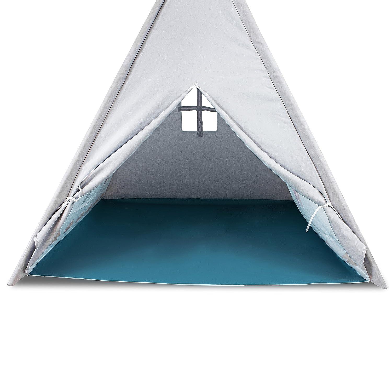 Kinderzelt Wigwam Tipi Spielzelt Indianer Indianerzelt Kinderzimmer Wigwam Kinderzelt Zelt d87c90