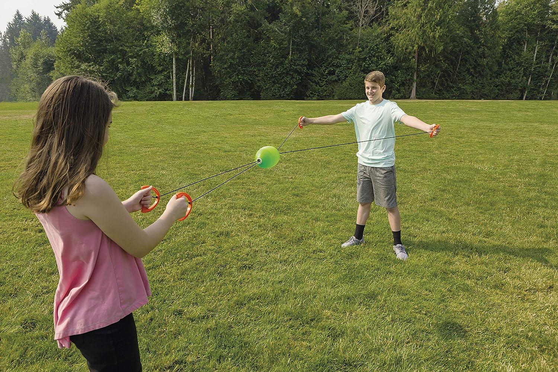 Alomejor Children Pull Shuttle Ball Jumbo Speed Ball Game Kids Outdoor  Sports Beach Toy Balls 2