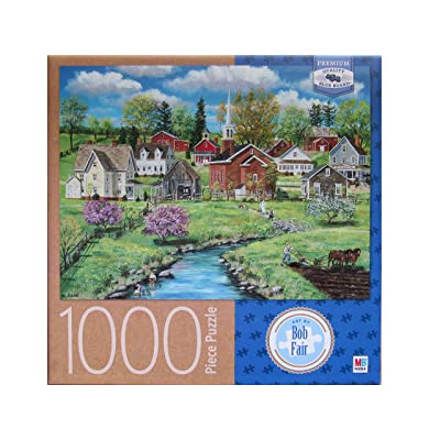 Bob Fair's Crab Apple Creek ~ 1000 Piece Puzzle: Toys & Games