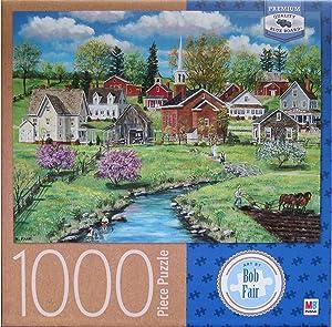 Bob Fair's Crab Apple Creek ~ 1000 Piece Puzzle