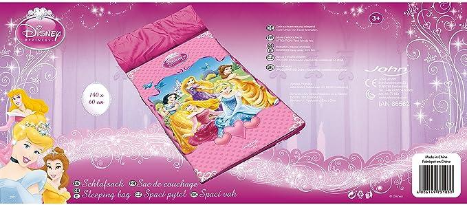 Disney 73103 - Saco De Dormir Princesas (Smoby): Amazon.es: Deportes y aire libre