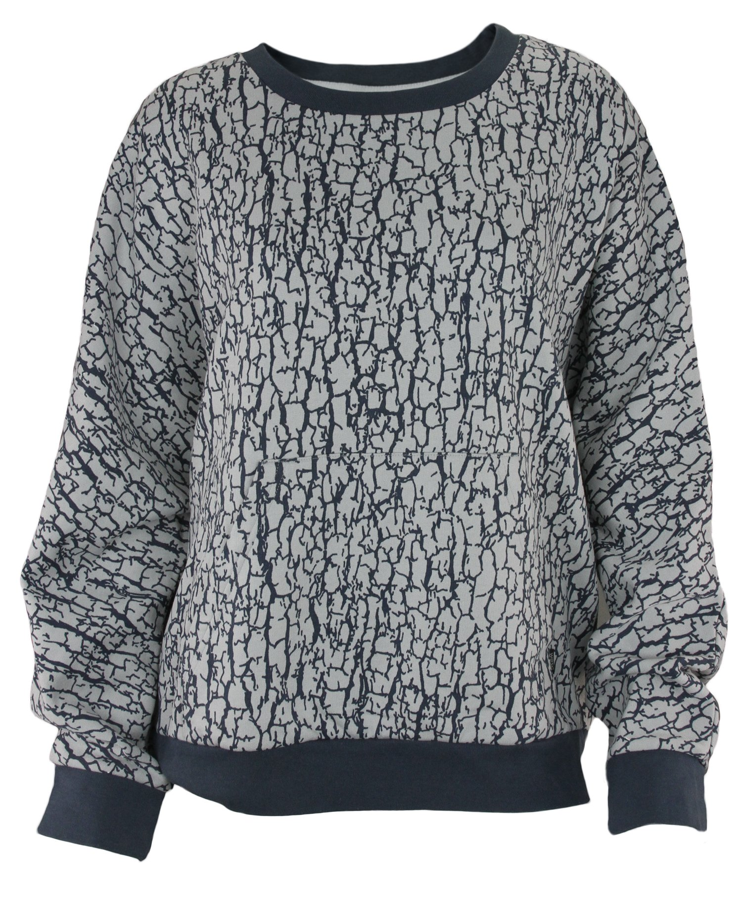 Wesc Women's Trine Sweatshirt (Large, Blue)