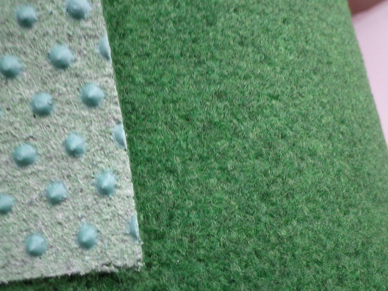 Hervorragend Kunstrasen grün (4€/m²) mit Noppen 400 cm breite (500 x 400 cm  LC95
