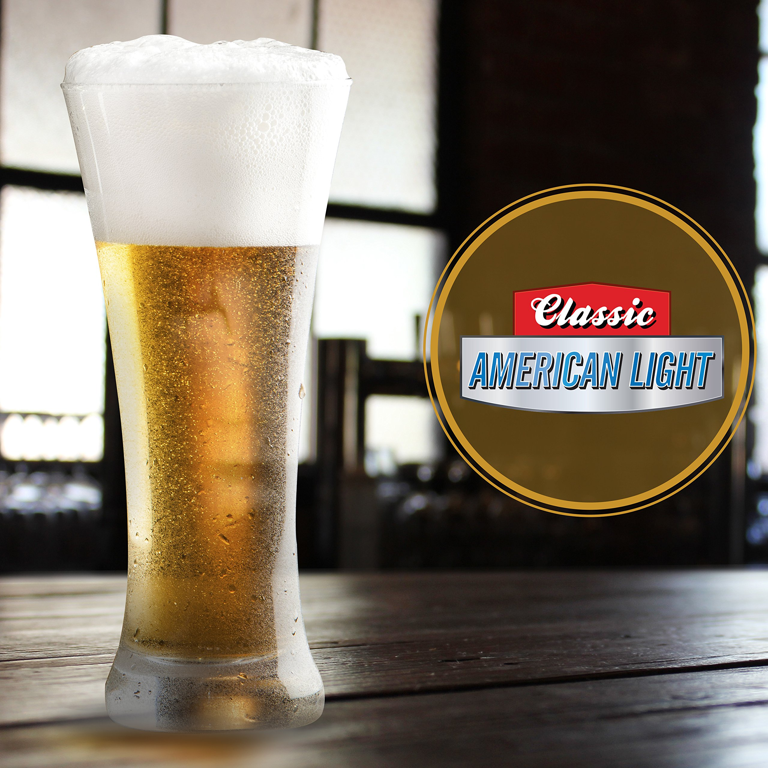 Mr. Beer Classic American Light 2 Gallon Homebrewing Craft Beer Making Refill Kit with Sanitizer, Yeast and All Grain Brewing Extract by Mr. Beer (Image #2)