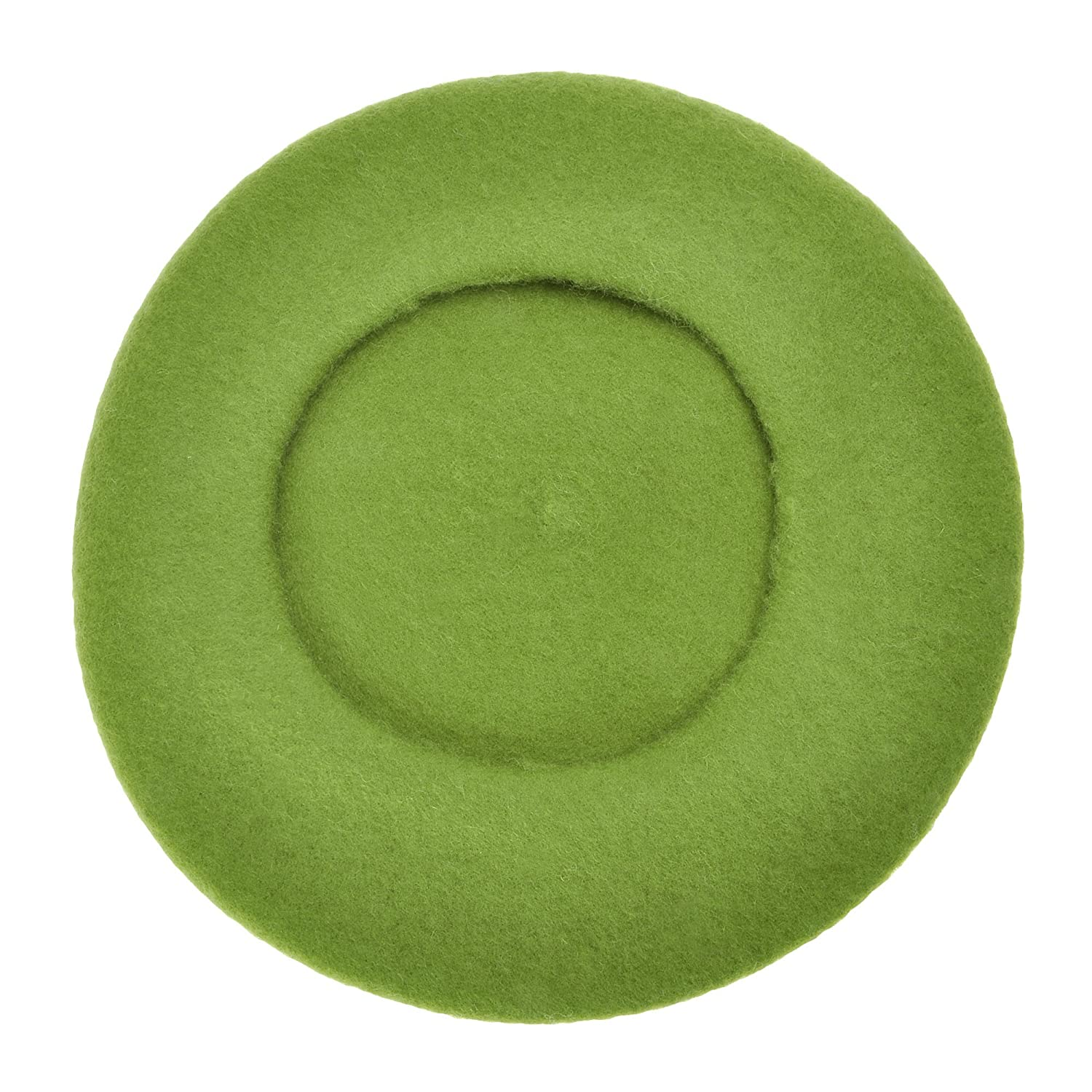 f740f9036a8 Wool Beret Hat Classic Solid Color French Beret for Women (Army Green) at  Amazon Women s Clothing store
