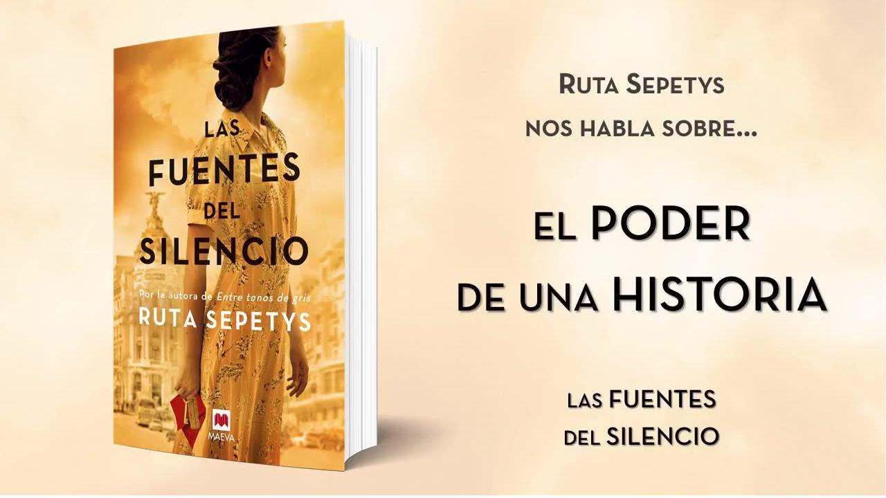 las fuentes del silencio: Ruta Sepetys, la autora que da