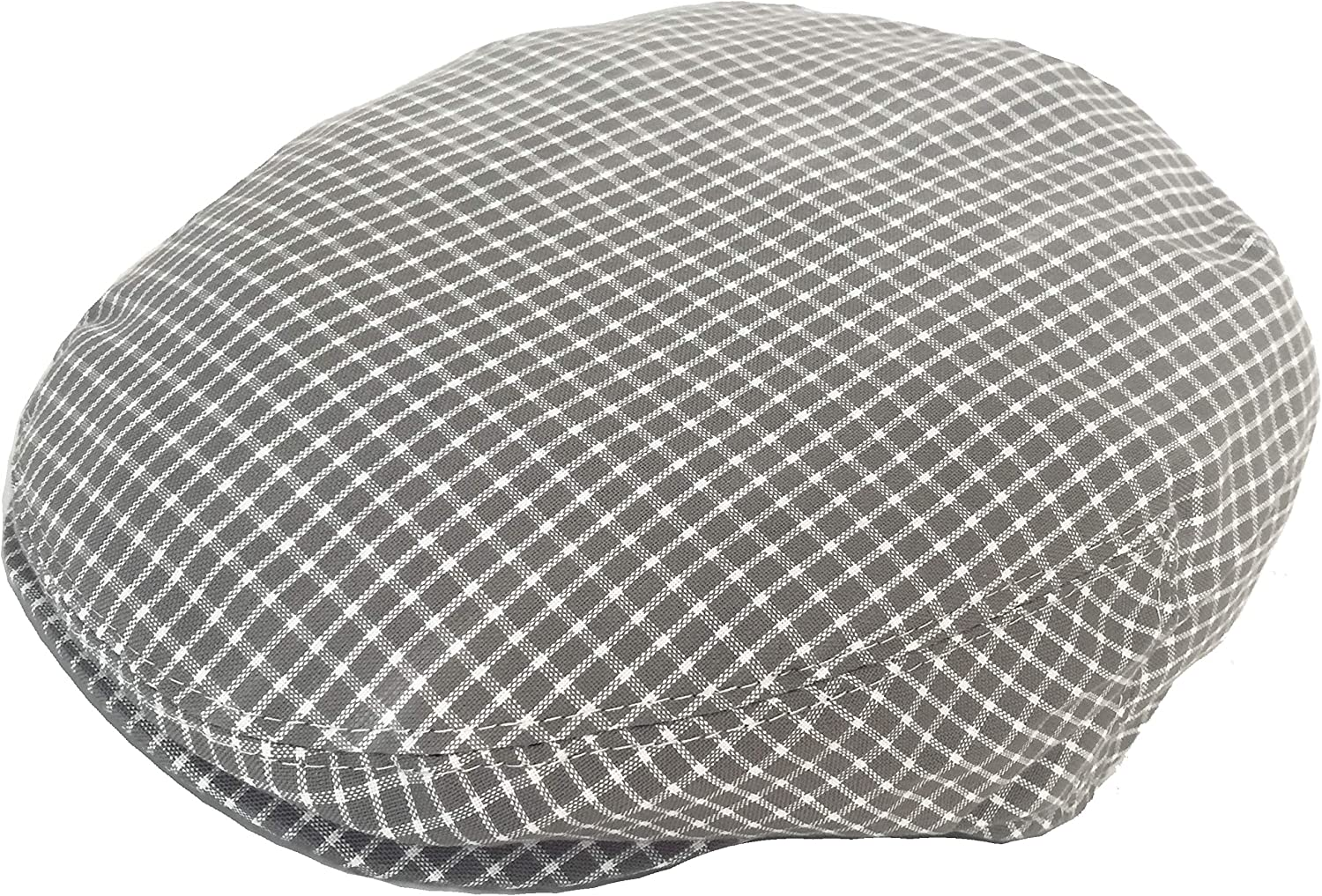 Summer Plaid Ivy Scally Driver Cap Polyester Flat Hat