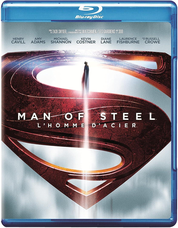 Man of Steel [Blu-ray] (Bilingual) Diane Lane Henry Cavill Amy Adams Kevin Costner