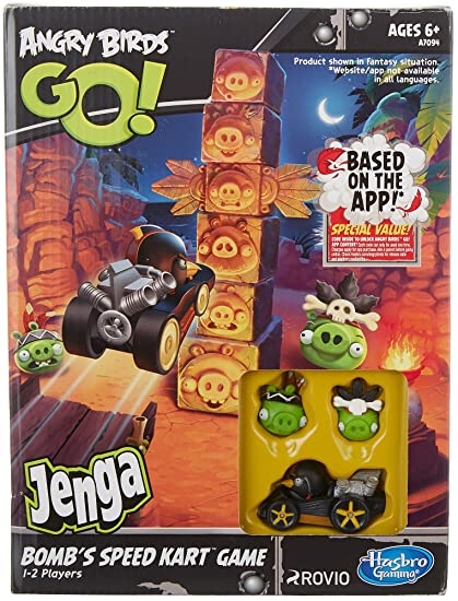 Angry Birds GO Exclusive Game Bombs Speed Kart
