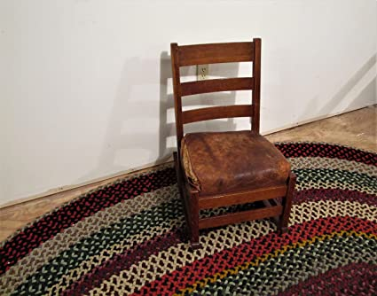 Enjoyable Amazon Com Antique Ljg Stickley Sewing Rocking Chair W4825 Creativecarmelina Interior Chair Design Creativecarmelinacom