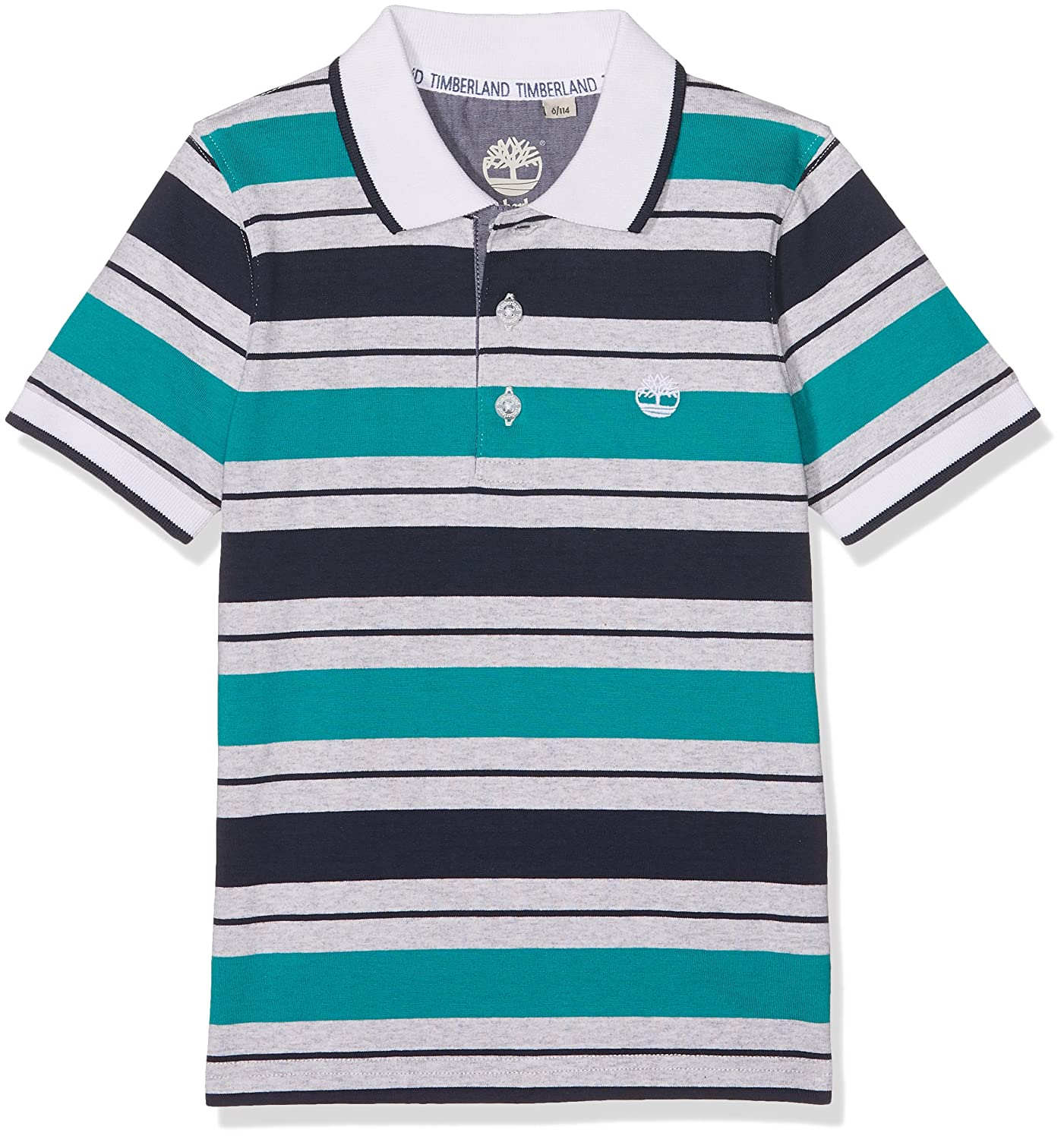 Timberland Boy's Polo Manches Courtes Shirt T25M79