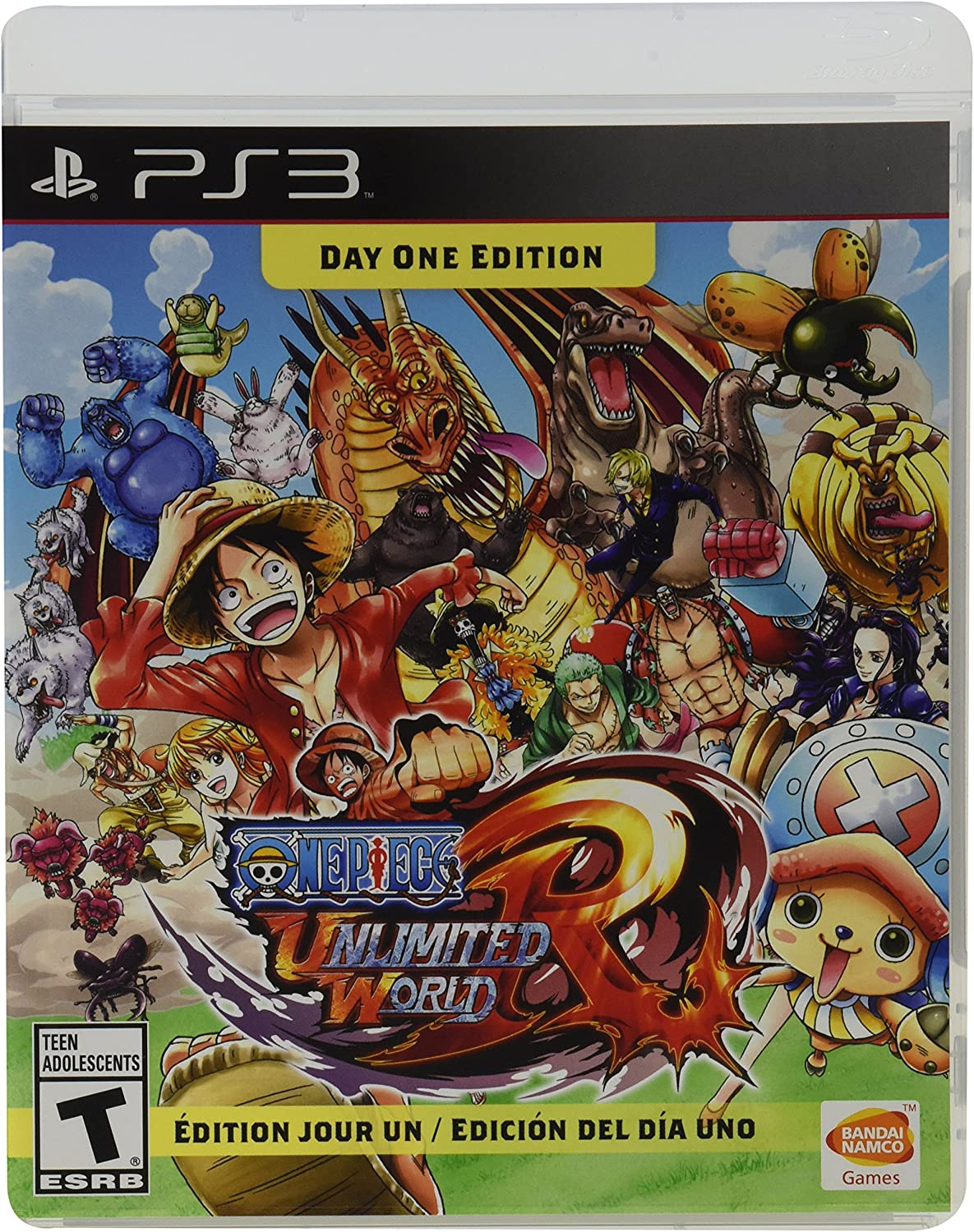 Amazon.com: One Piece Unlimited World Red: Day 1 Edition ...