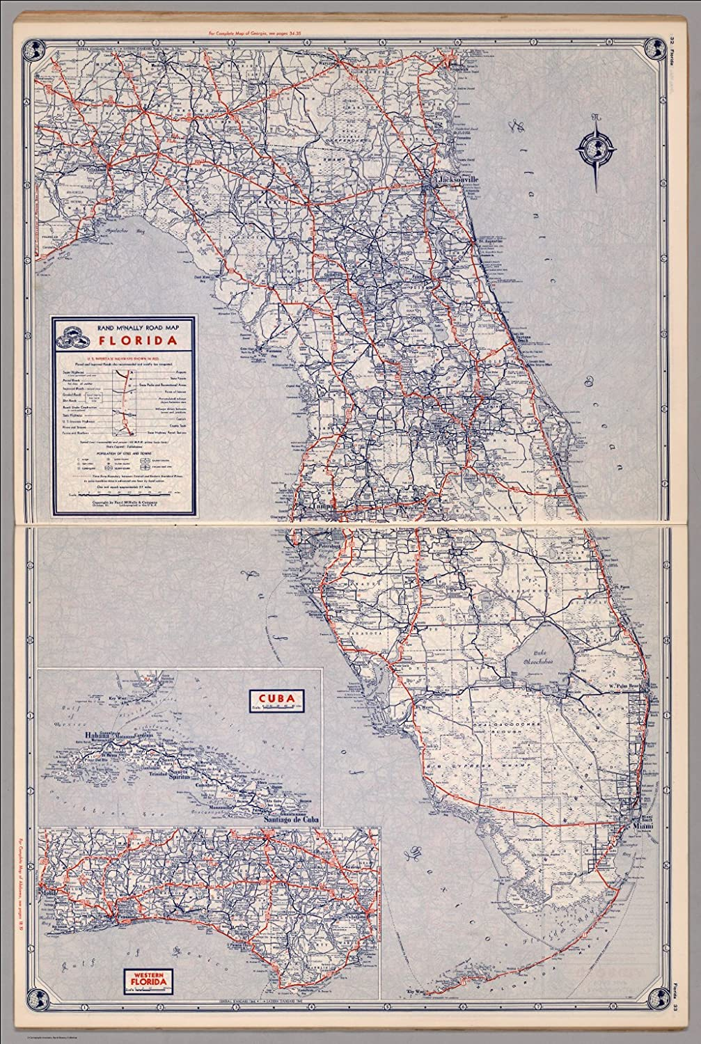 Map Of Western Florida.Amazon Com Map Poster Road Map Of Florida 13 X 19 Posters Prints