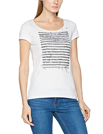 ff790d46bb4f82 ESPRIT Women's T-Shirt: Amazon.co.uk: Clothing