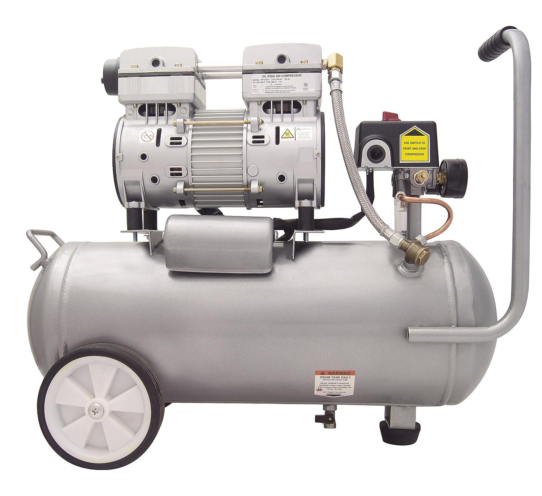 California Air Tools 6010lfc 1.0 HP Ultra silencioso y sin Aceite compresor de aire industrial, 6.0-gallon: Amazon.es: Bricolaje y herramientas