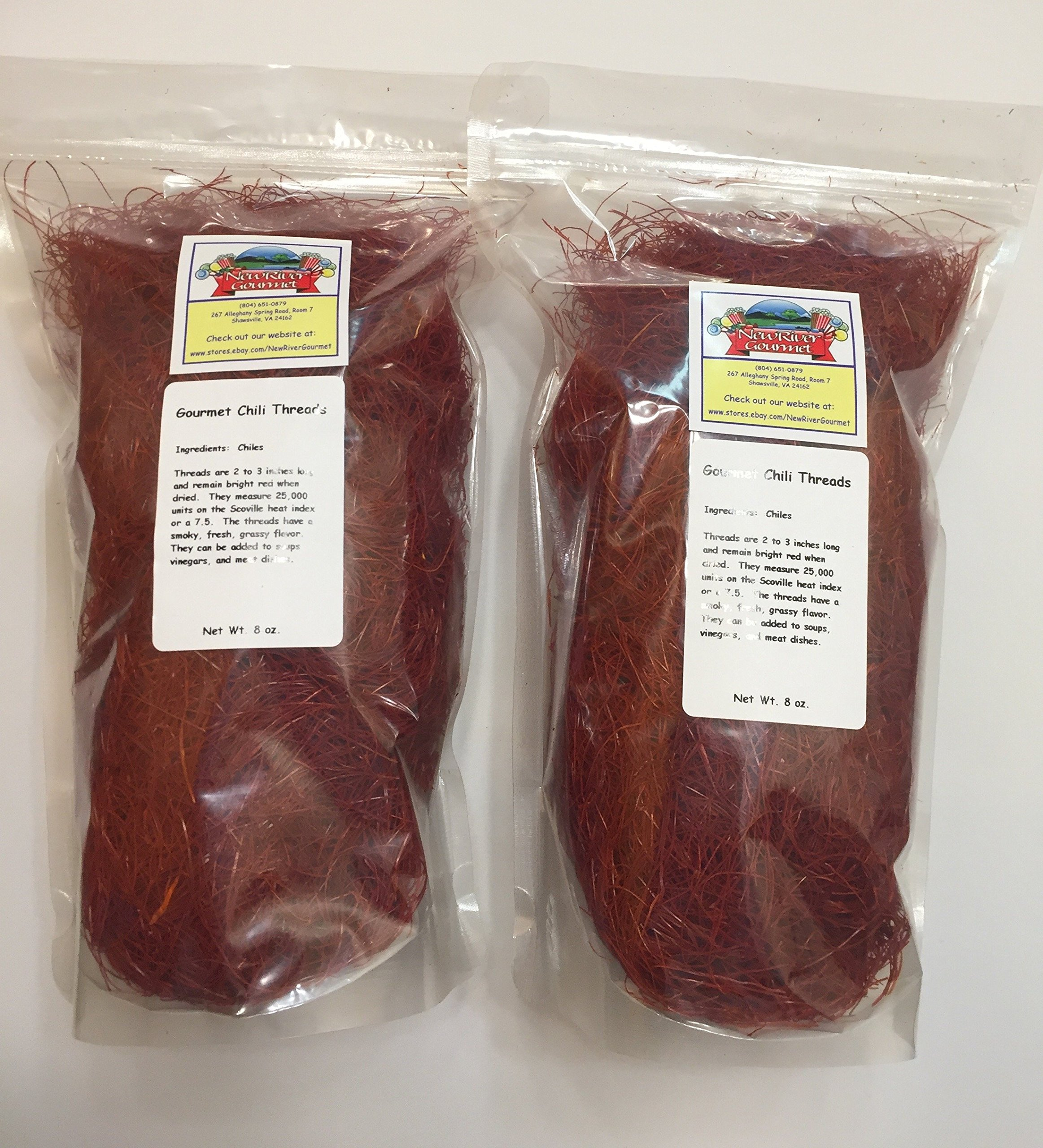 Mild Chile Threads (16 ounces (1 pound)) by New River Gourmet (Image #1)