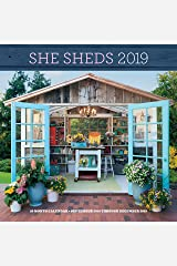 She Sheds 2019: 16-Month Calendar - September 2018 through December 2019 Calendar
