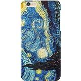 Cover Custodia Protettiva La Notte Stellata Vincent Van Gogh Quadro Arte Dipinto Olanda Iphone 4/4S/5/5S/5SE/5C/6/6S/6plus/6s plus Samsung S3/S3neo/S4/S4mini/S5/S5mini/S6/note