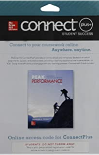 Peak performance success in college and beyond sharon ferrett connect access card for peak performance success in college and beyond fandeluxe Gallery