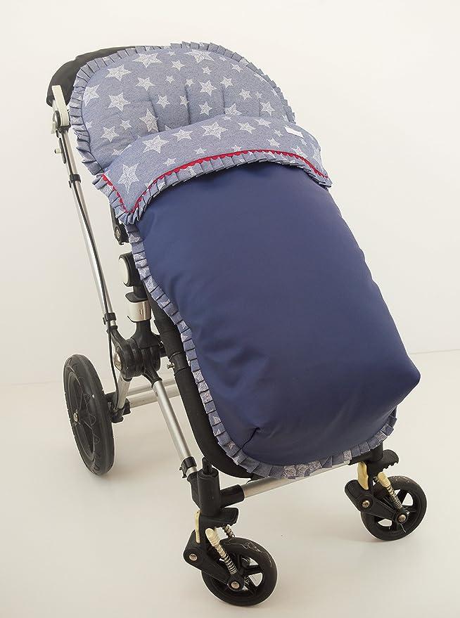 Saco para silla de paseo. Varios modelos y colores disponibles (Big stars marino)