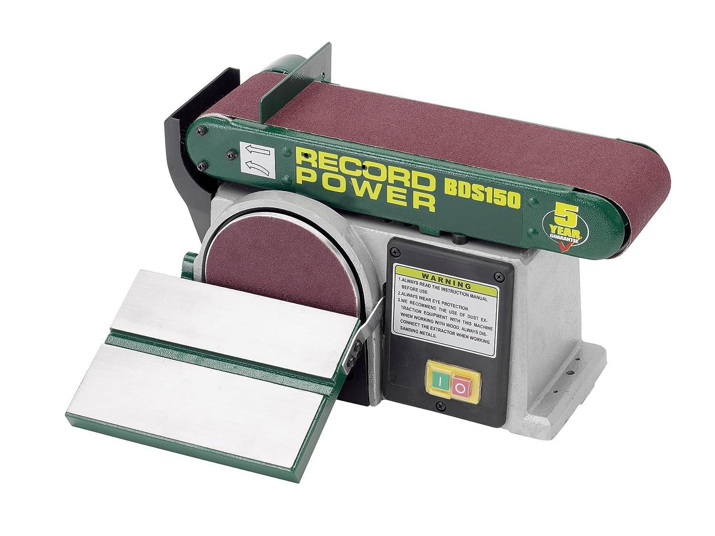 Record Power BDS150 Belt Disc Sander 6 x 4-inch RPTBDS150