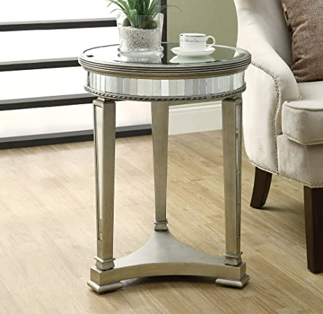 Amazon Monarch Specialties Diameter Accent Table 20 Inch