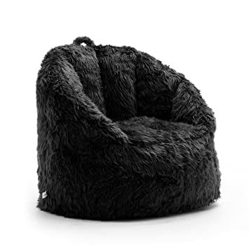 Swell Big Joe Milano Bean Bag Chair Black Dailytribune Chair Design For Home Dailytribuneorg