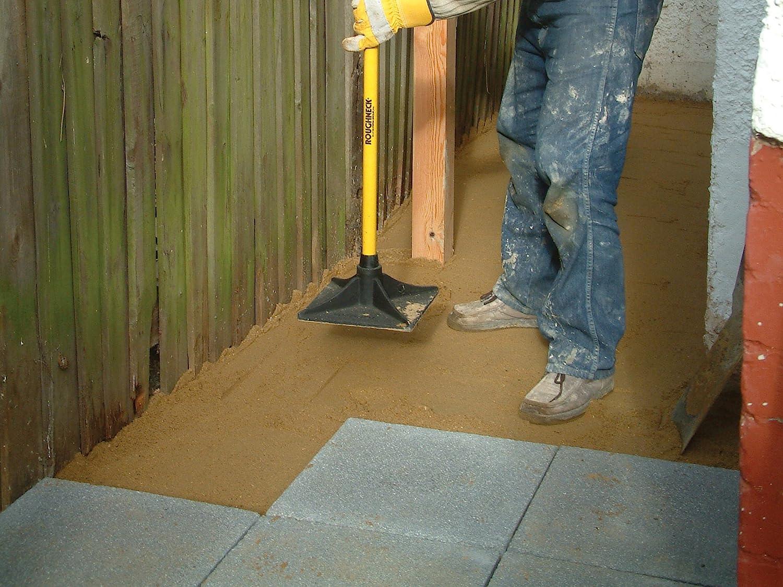 Roughneck 64379 - Pisón de tierra cuadrado con mango de fibra de ...
