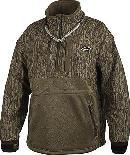 81df2ca0b4094 Amazon.com: Drake Men's MST Camo Eqwader Plus Full Zip: Clothing