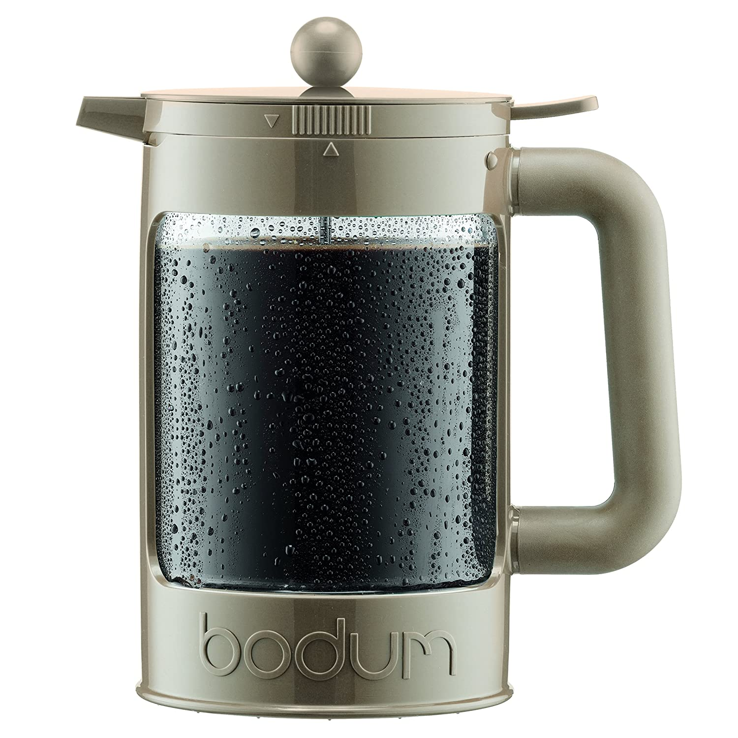 Bodum K11683-133 Bean Ice Coffee Maker, 12 Cup/51 oz, Sand