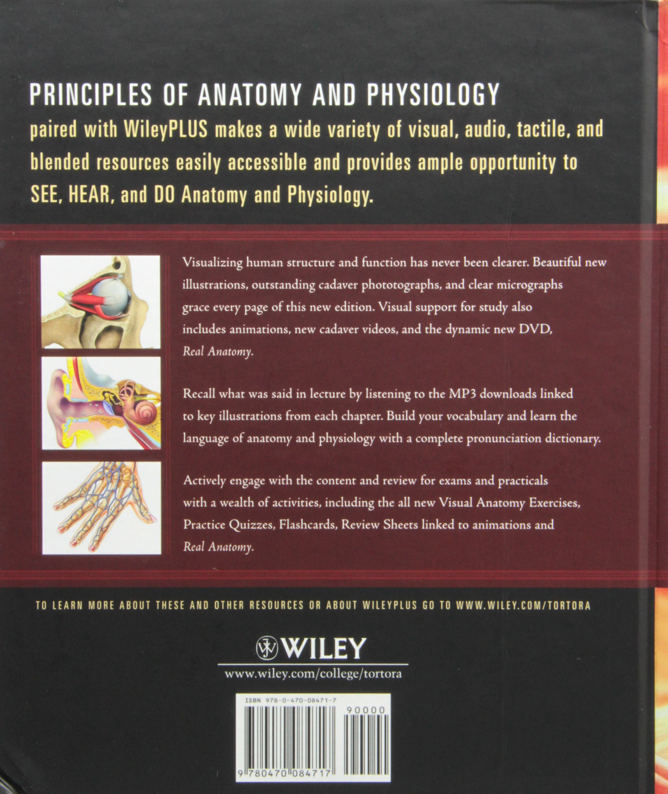 Principles of Anatomy and Physiology, Twelfth Edition with Atlas and ...