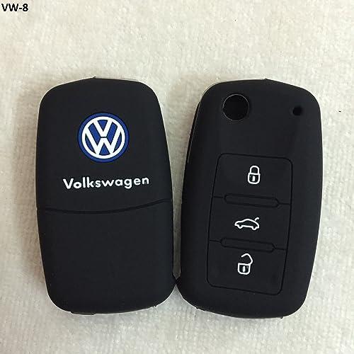 Volkswagen car accessories buy volkswagen car accessories online at sfk silicone flip key cover for volkswagen polovento jettapassat flip keys fandeluxe Gallery