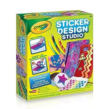 Crayola sticker design studio sticker maker gift for kids ages 8 9
