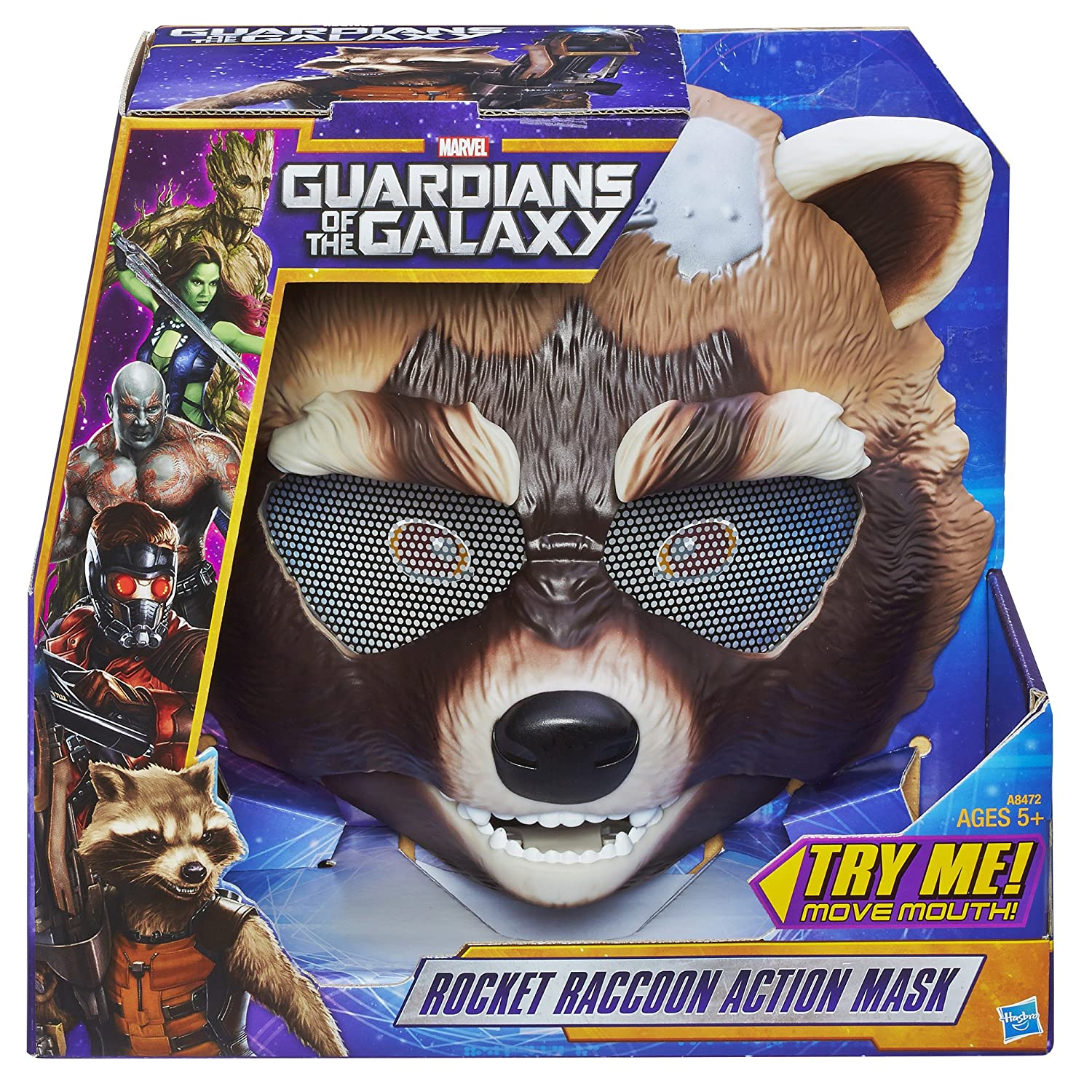 Amazon.com: Marvel Guardians of The Galaxy Rocket Raccoon Action ...
