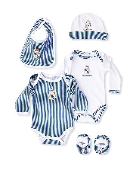 Real Madrid Pijama Azul Única  Amazon.es  Ropa y accesorios a69ce713c64fd