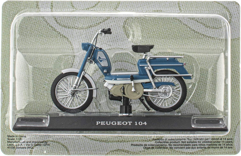 OPO 10 Solex Motob/écane Mobix Lot de 4 mobylettes mythiques 1//18 : Peugeot 104 M11+M17+M20+M43