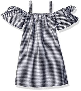7e2a3442080 Amazon.com  My Michelle Girls  Big Cold Shoulder Dress  Clothing