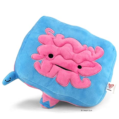 Amazon.com: Immense Intestine Plush - Go With Your Gut! - I Heart ...