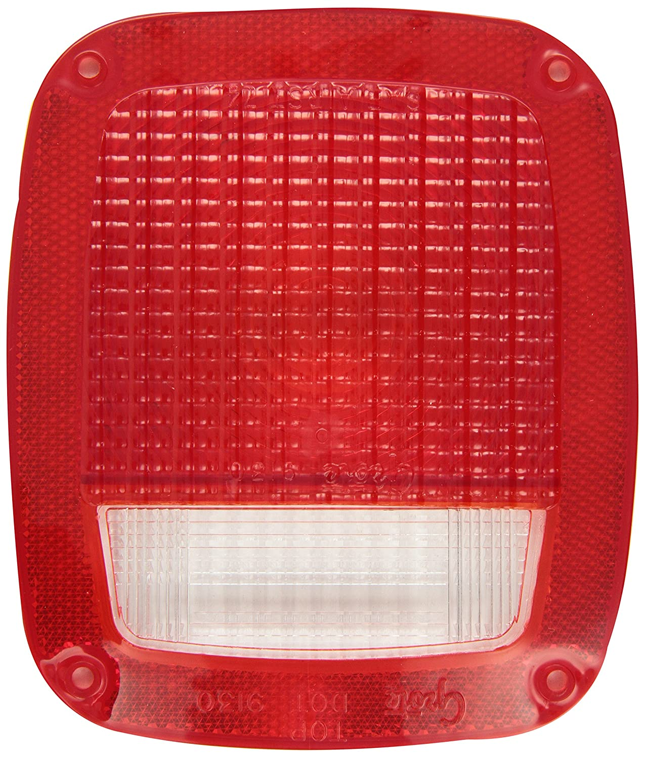 Grote 91302 Red Stop Tail Turn Replacement Lenses