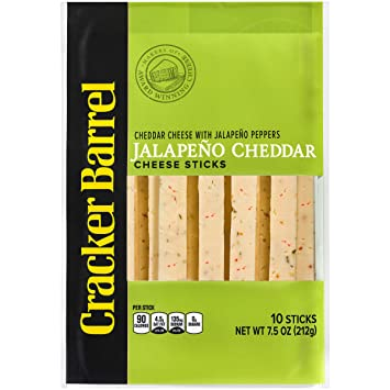 cracker barrel 2 cheese sticks
